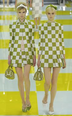 wmagazine:    Photo by firstVIEW  The Bobbsey Twins  Louis Vuitton Spring 2013, Paris.