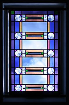 Skylight #Glass-art-panel