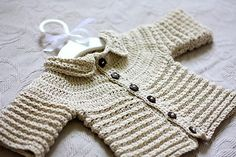 Looking for your next project? You're going to love Nina's Baby Cardigan  by designer MonPetitViolon.