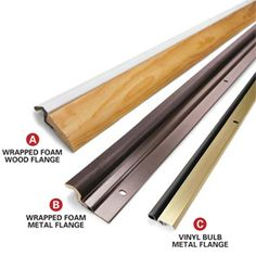 Stop energy-wasting leaks around door jambs by installing a weatherstripping kit and door sweep. Learn how in 13 visualized steps with Family Handyman. Door Weather Stripping, Door Sweep, Home Fix, Door Seals, Diy Home Repair, Thing 1, Home Repairs, Diy Door, Exterior Doors