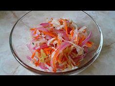 Receta de Curtido - Ensalada de repollo para pupusas - YouTube