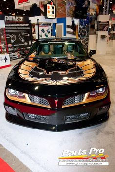 """Pontiac Firebird"": Modified Chevrolet Camaro"