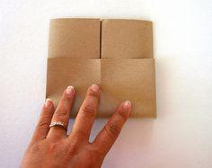 Make your own envelope.