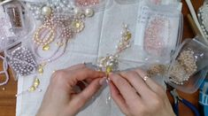 wedding hairstyles videos Wedding hairpiece, Bridal headband, Gold hair vine, Bridal jewelry In the process. Bridal Bracelet, Bridal Jewelry, Beaded Jewelry, Bead Embroidery Patterns, Beaded Embroidery, Wedding Hair Pieces, Hair Wedding, Diy Hair Bows, Hair Beads