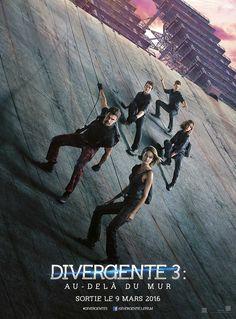 Divergente 3 : Au-Delà du Mur - 3ème Affiche France