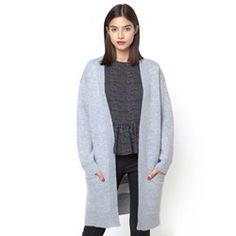 Snuggle up in French style with Women's fine & chunky knit cardigans &  boleros from La Redoute.