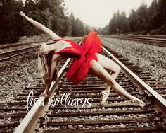 Ballet girl posing laid back on tracks dance senior girl Dance Senior Pictures, Dance Picture Poses, Dance Photo Shoot, Senior Girl Poses, Dance Poses, Senior Girls, Senior Portraits, Portrait Poses, Tumblr Ballet