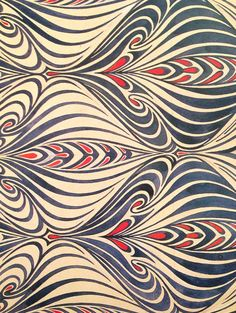patterntheory: [from a book on Art Nouveau] Surface pattern and textile design Motifs Art Nouveau, Design Art Nouveau, Motif Art Deco, Art Nouveau Pattern, Deco Design, Pattern Texture, Surface Pattern Design, Pattern Art, Textile Texture