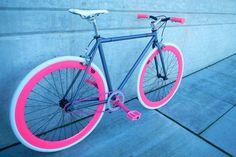 Melissas Pink Single Speed