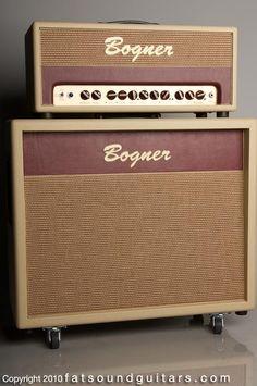 """bogner - 20th anniversary shiva. dual reverb head & 2x12"""" cab."""