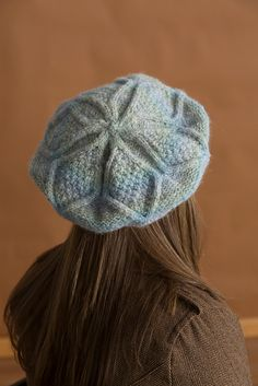NobleKnits.com - Classic Elite Avalanche Luverne Beret Knitting Pattern PDF, $6.95 (http://www.nobleknits.com/classic-elite-avalanche-luverne-beret-knitting-pattern-pdf/)