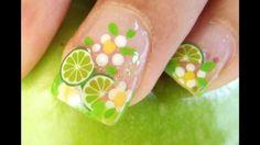 Decora tus uñas con fimos  de porcelana fría