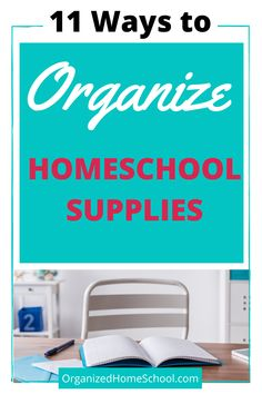 The best baskets to organize your homeschool supplies are listed here.They can be used to organize curriculum, books, paper and more. Preschool Supplies, Preschool Schedule, Preschool Curriculum, Preschool Lessons, Kindergarten, Homeschool Diploma, High School Literature, Lesson Planner, School Planner