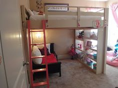 Ana White | Queen Loft Bed - DIY Projects