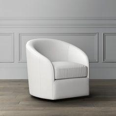 Montclair Swivel Chair | Williams Sonoma