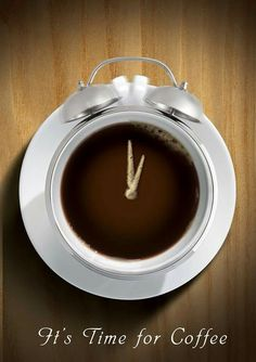 Good morning everybody! Coffee time!
