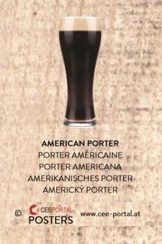 AMERICAN PORTER PORTER AMÉRICAINE PORTER AMERICANA AMERIKANISCHES PORTER AMERICKÝ PORTER Beer, American, Style, Foods, Root Beer, Swag, Ale, Outfits
