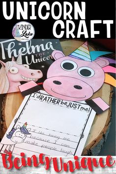 This unicorn craft and writing is about being unique. It is perfect for a bulletin board in your first grade, second grade, or third grade, classroom for a back to school activity. Parents will love seeing these during meet the teacher or open house. #unicorncraft #backtoschool #bulletinboard #firstgrade #secondgrade #thirdgrade