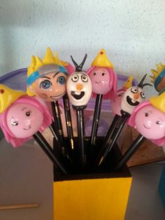 Ponteira de lápis em biscuit ótimo para Lembrancinhas, R $ 4,00
