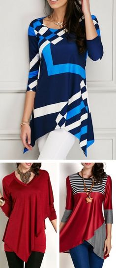 Casual Wear, Casual Outfits, Cute Outfits, Fashion Wear, Fashion Dresses, Womens Fashion, Modelos Plus Size, Diy Clothes, Clothes For Women