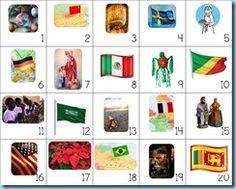 12 Days of Christmas ~ December ~ Christmas Around the World Calendar Connections