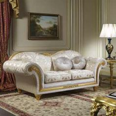 Furnishing for living room in classic style Excelsior | Vimercati Classic Furniture