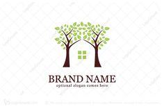 Overused logo designs sold - Tree House Logo