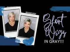 Popular Short Gray Synthetic Wigs, ft. Jon Renau, Rene of Paris, Noriko, Estetica, Tony of Beverly - YouTube