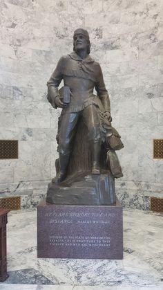 Marcus Whitman Statue, Washington State Capitol