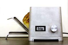 the optimist's toaster, designed to last a lifetime, one of 3 toasters from this design group