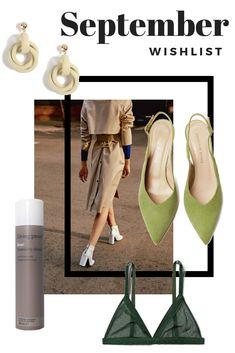 September Wishlist Fashion Advice, Fashion Bloggers, Star Fashion, Fashion Outfits, Swedish Fashion, New Shoes, Shoe Brands, Personal Style, September