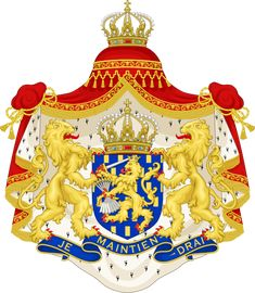 Old symbols of the Dutch royal family...The swords represent strength in unity.                                                                                                                                                     More