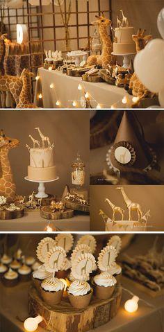 Party Giraffen auf der Safari von Ludique Celebrations – Party … Party Giraffes on the Safari by Ludique Celebrations Idee Baby Shower, Baby Shower Giraffe, Baby Shower Parties, Safari Baby Showers, Animal Baby Showers, Jungle Theme Baby Shower, Giraffe Birthday, Safari Birthday Party, Baby Birthday
