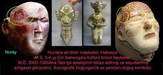 Hakasya'daki Hunlara Ait Ölüm Maskeleri - Türk Kozmolojisi