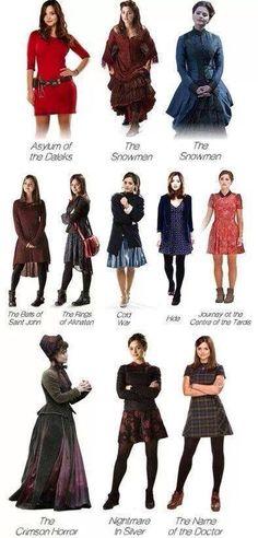 Clara oswald outfits doctor who companion geek chic fashion, fashion f Geek Chic Fashion, Fashion 101, Fashion Beauty, Fashion Outfits, Fashion Clothes, Clara Oswald Fashion, Clara Oswald Clothes, Clara Oswald Outfits, Doctor Who Outfits
