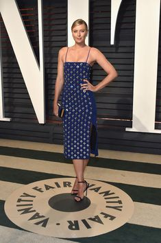 Maria Sharapova - Every Look from the 2017 Oscars After-Parties You Can't Miss - Photos