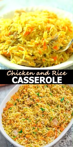 Easy Chicken Rice Casserole, Easy Chicken And Rice, Easy Rice Recipes, Easy Chicken Dinner Recipes, Ground Beef Recipes Easy, Chicken Parmesan Recipes, Easy Healthy Recipes, Basmati Rice Recipes, Health Recipes