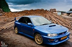 Subaru Impreza 22B STi shot by Fabien Dupont on flickr