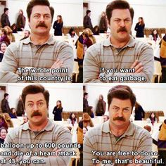 Why I love Ron Swanson