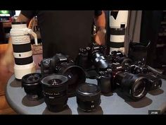 Sony Alpha Lenses - Gary Fong's Gearbag - YouTube