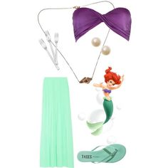 The little mermaid outfit
