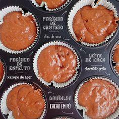 Queques Chocolate | Dias com Mafalda