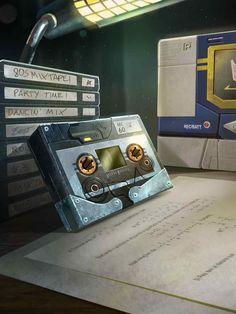 Decepticon Cassette Ravage Artwork From Transformers Legends Game