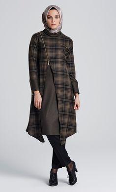 Fermuar Detaylı 2014 Yeni Sezon Tunik Modelleri