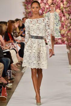 Oscar de la Renta Spring 2015 Ready-to-Wear Fashion Show - Malaika Firth