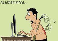 So sollte Selbstmotivation nicht aussehen! Sei immer Motiviert!