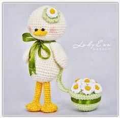 Cute crochet by Oksana Batora, Lady Eva Design