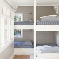 Kids Bunk Room, Transitional, boy's room, Justine Hugh Jones Design