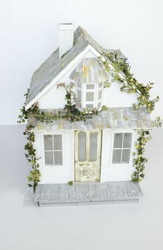 Cinderella Moments: The Getaway Cottage Custom Dollhouse
