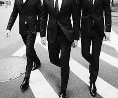 connor, ryke & loren in suits Gentleman Stil, Style Gentleman, English Gentleman, Modern Gentleman, Dapper Gentleman, Daddy Aesthetic, Badass Aesthetic, Character Aesthetic, Mafia